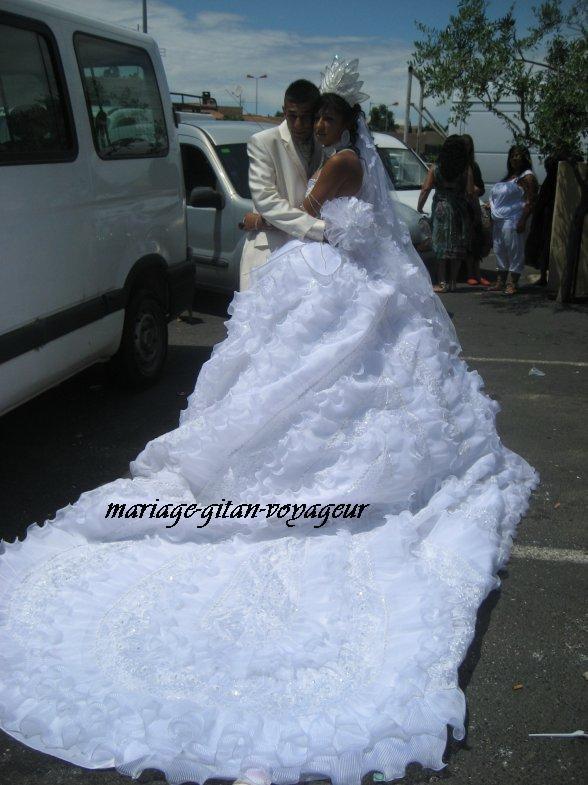 Robe de soiree pour mariage gitan